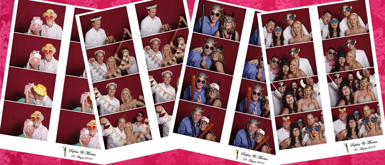 Hochzeitspaar Fotobox