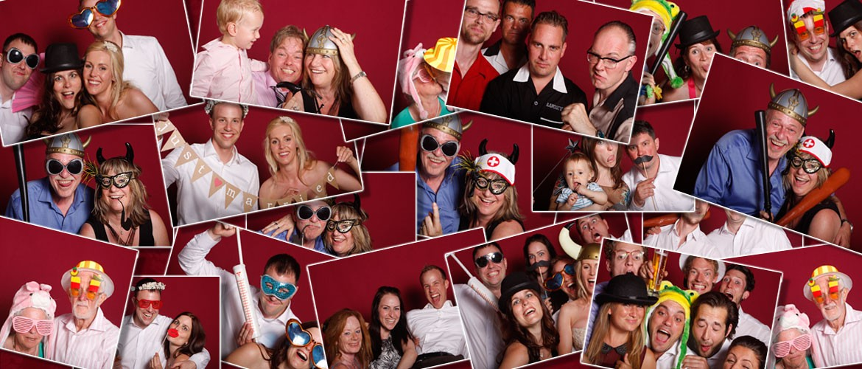 Hochzeitsparty Fotobox