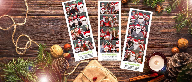 Weihnachtsfeier Fotobox mieten